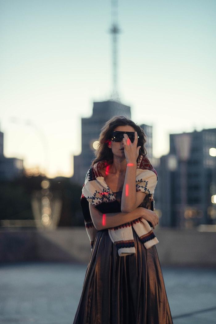 inspiration tenue d automne vetement fille 12 ans que porter pour la rentree scolaire tendances brune jupe