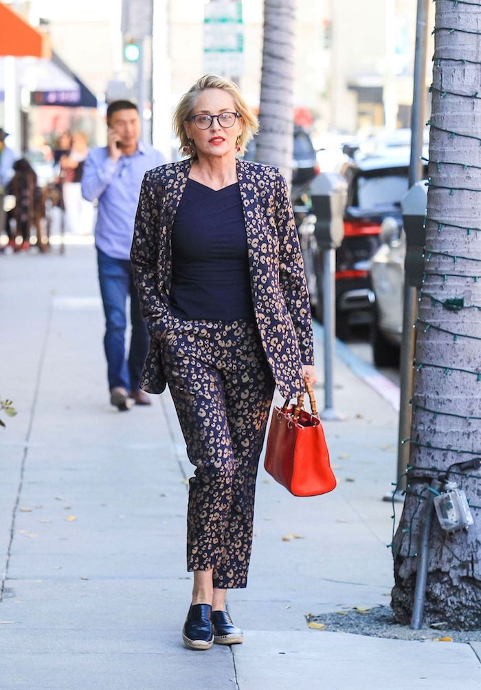 sharon stone, out and about, los angeles, usa 23 apr 2019