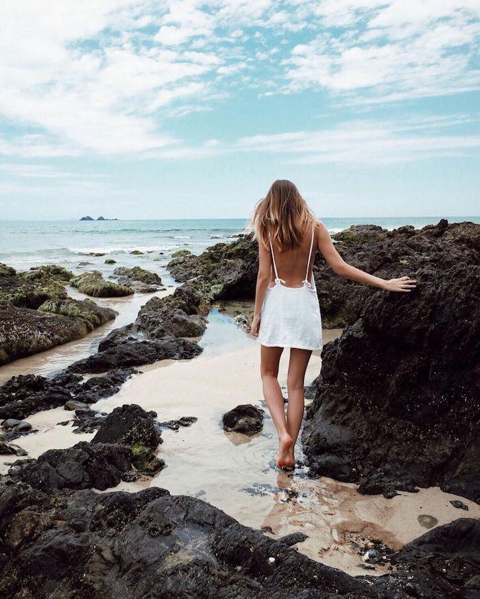 originale idee tenue blanche robe de soirée ado style vestimentaire ado bien s habiller aujourd hui mer