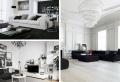 Le salon noir et blanc : guide complet pour réussir facilement sa déco