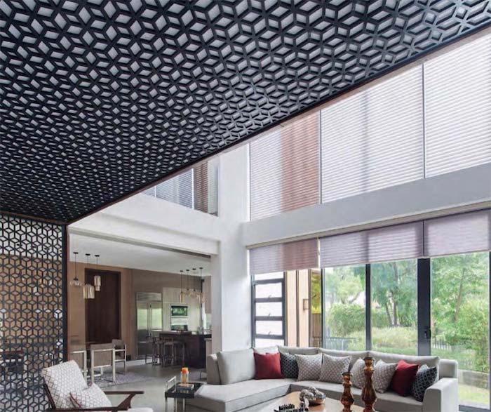 une idée originale de decoration plafond suspendu comment décorer une maison tendance