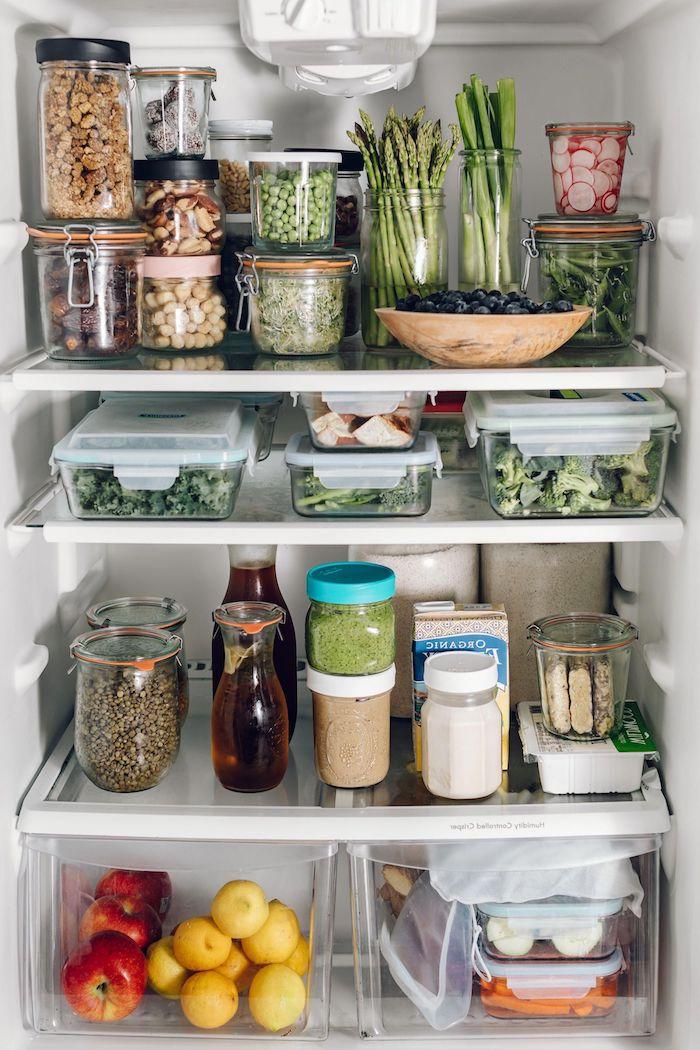boite rangement ikea comment organiser sa cuisine et le refrigerateur