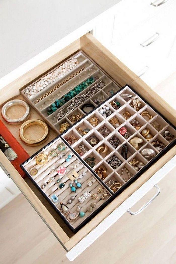 boite rangement ikea idees et astuces pour les bijoux par marie kondo