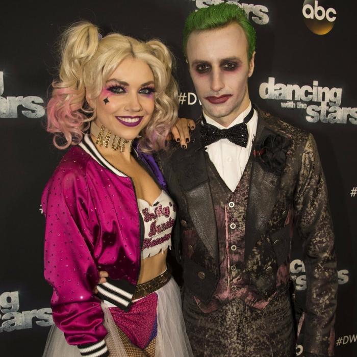 celebrites inspires par suicide squad halloween déguisement sur thème cinéma