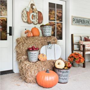 Déco Halloween extérieurе à faire soi-même - comment décorer à petit budget avec de la récup