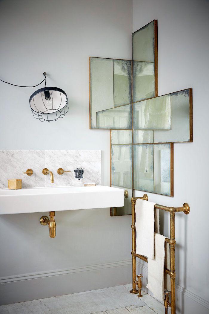 comment disposer les miroirs dans une petite salle d eau