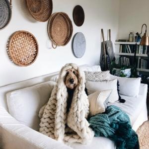 Salon chaleureux - comment transformer cette pièce de clé pour la saison automne/hiver