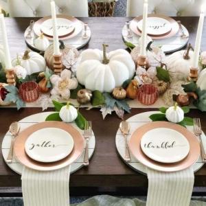 La déco table d'automne - inspiration d'activité créative