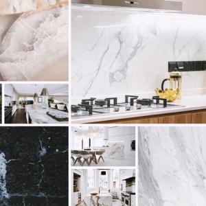 Cuisine en marbre : guide des trucs à appliquer pour inviter le matériau noble chez soi