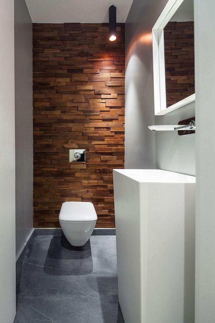 deco salle de bain idee carrelage en bois decoration de salle de bain