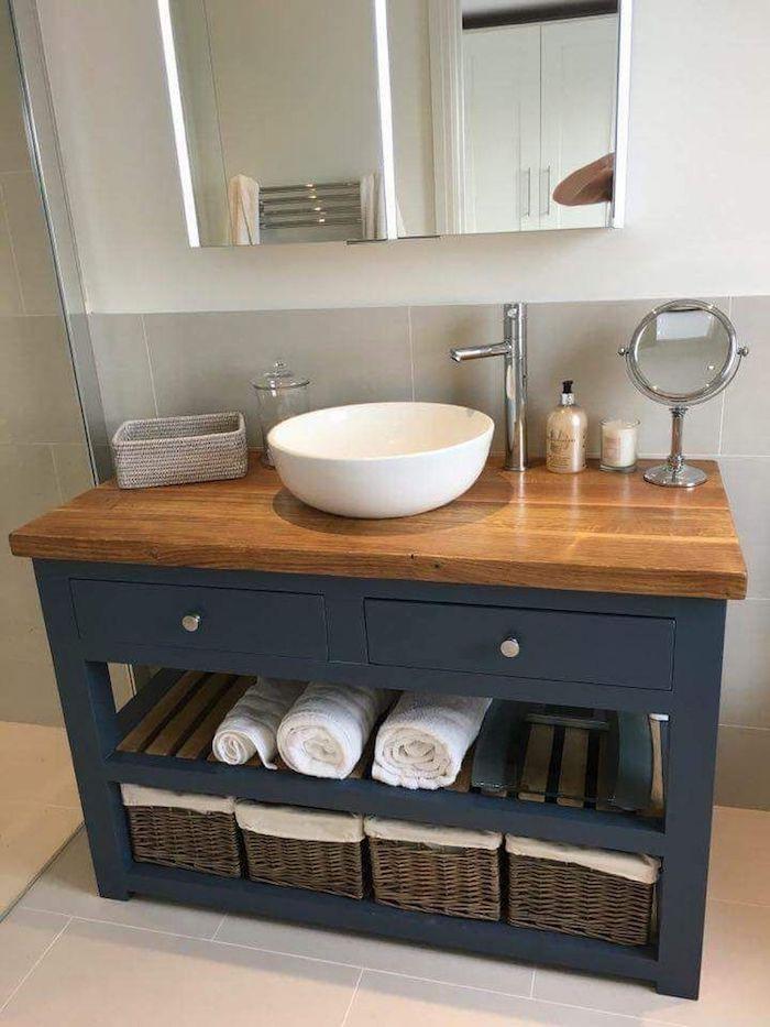decoration de salle de bain quel meubles dans une petite salle d eau rangement