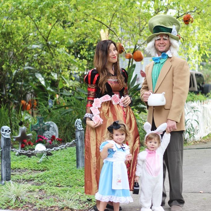 deguisement famille en style le magicien d oz costume de lapin pour enfant des chapeau hautes