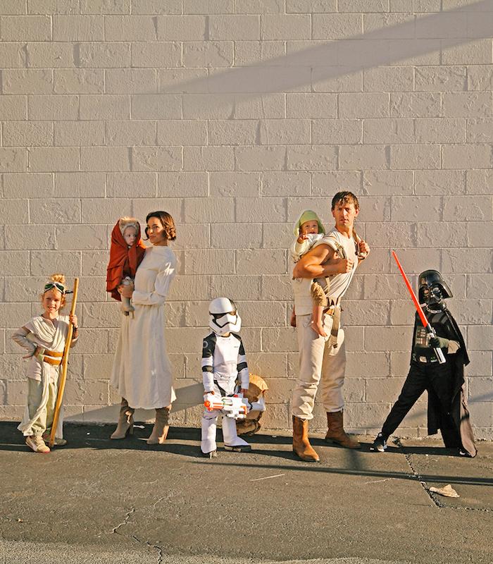deguisement halloween star wars costumes a commander pri