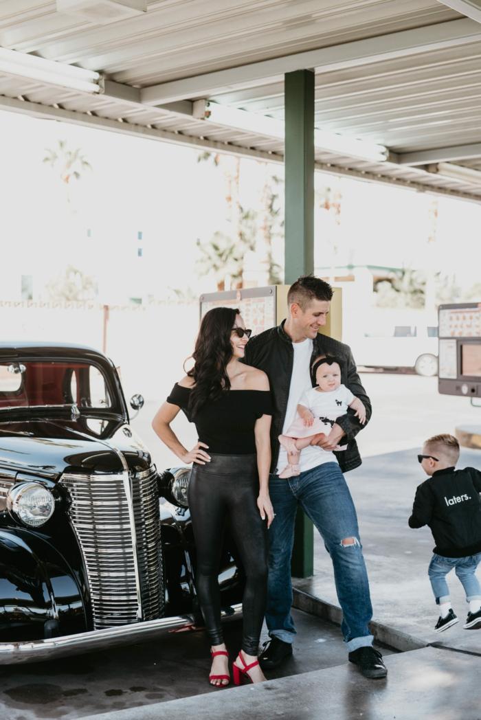 deguiser la famille comme grease toute la famille deguisement film comment s habiller pour une soirée cinéma deguisement de groupe mere pere et enfants
