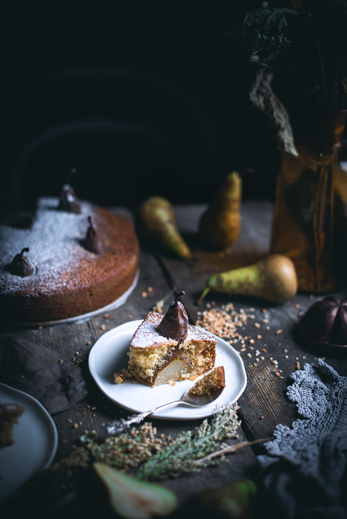 exemple de gateau a la poire et cau cardamon recette facile et rapide de dessert automne hiver