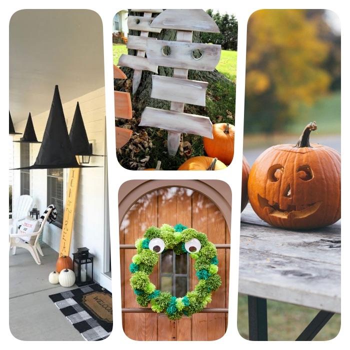 exemples de décoration halloween à faire soi même cirouille fantme sorciere monstre motifs de halloween originaux