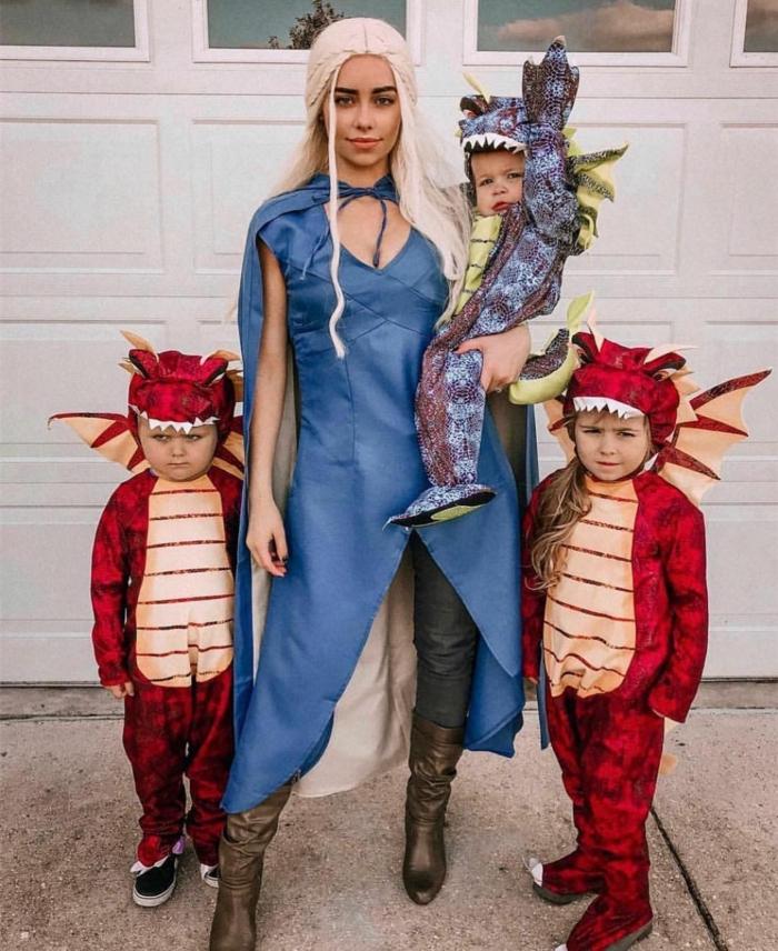 got déguisement personnage de film comment se deguiser comme personnage de game of thrones et enfants costumes de dragons