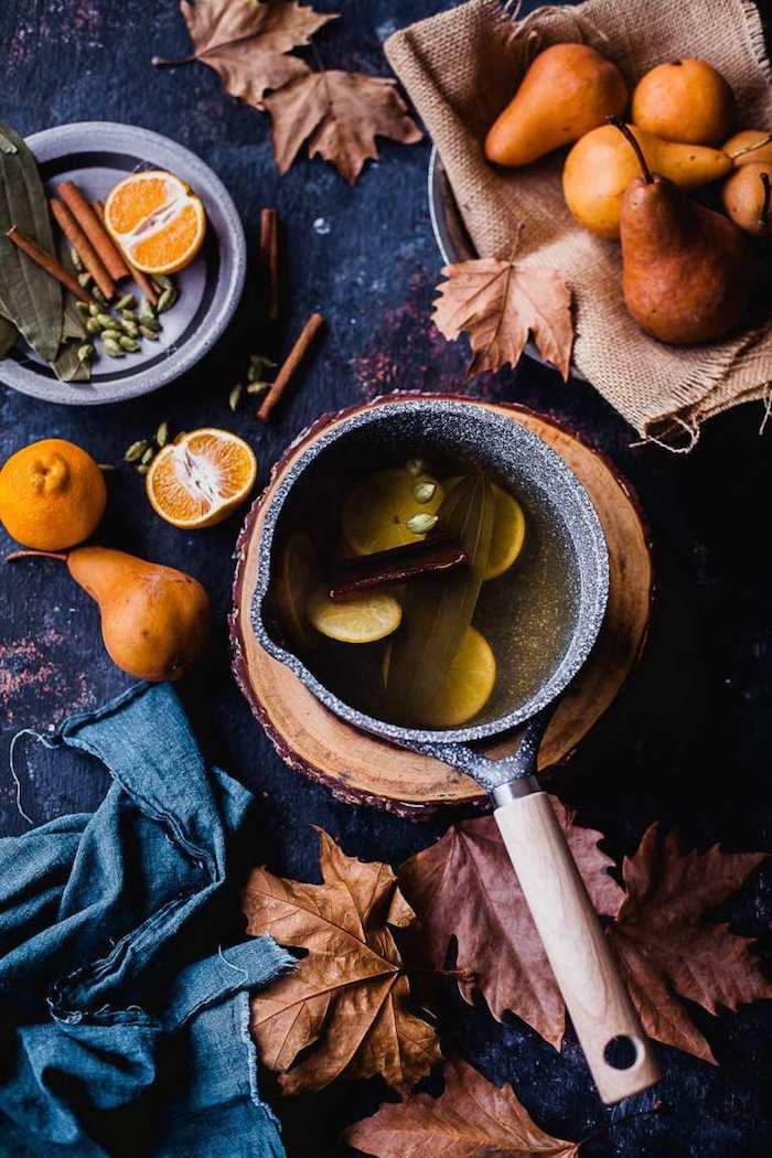 idée de cake chocolat poire facile a faire avec des poires pochées dans cannelle caramome oranges recette automnale