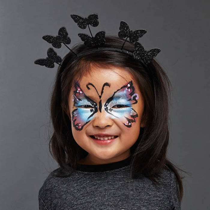 1001 Idees De Maquillage Halloween Facile Pour Enfant