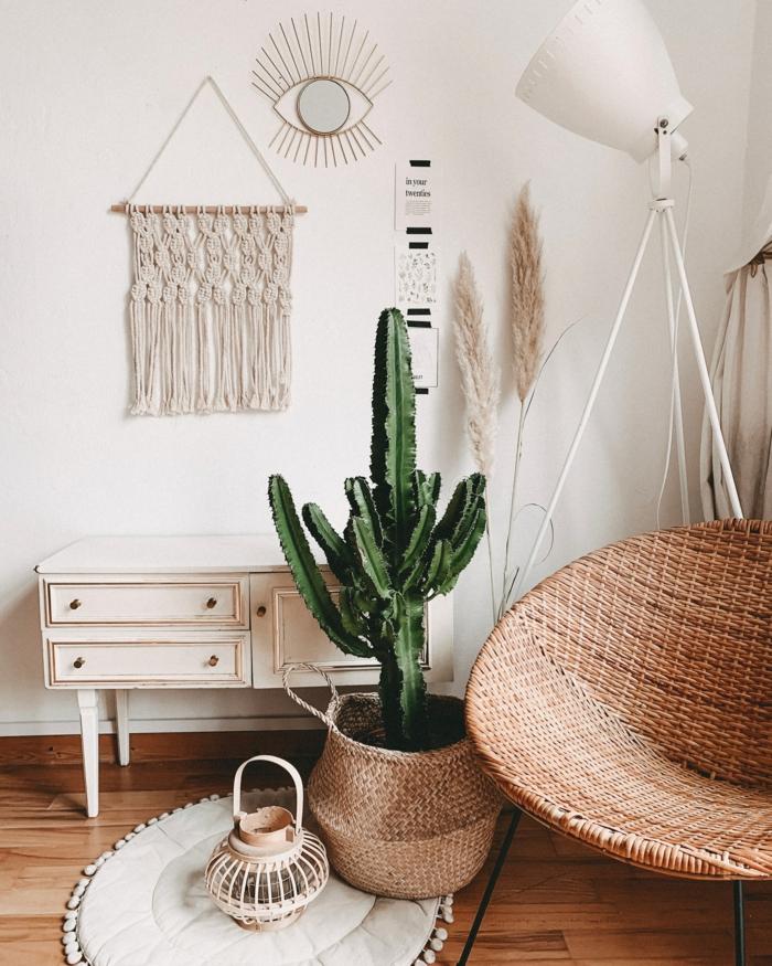 inspiration bohème plante verte comment rendre une chambre plus belle