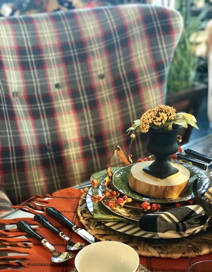 inspiration simples activités manuelles automne deco table d automne inspiration centre de table vase