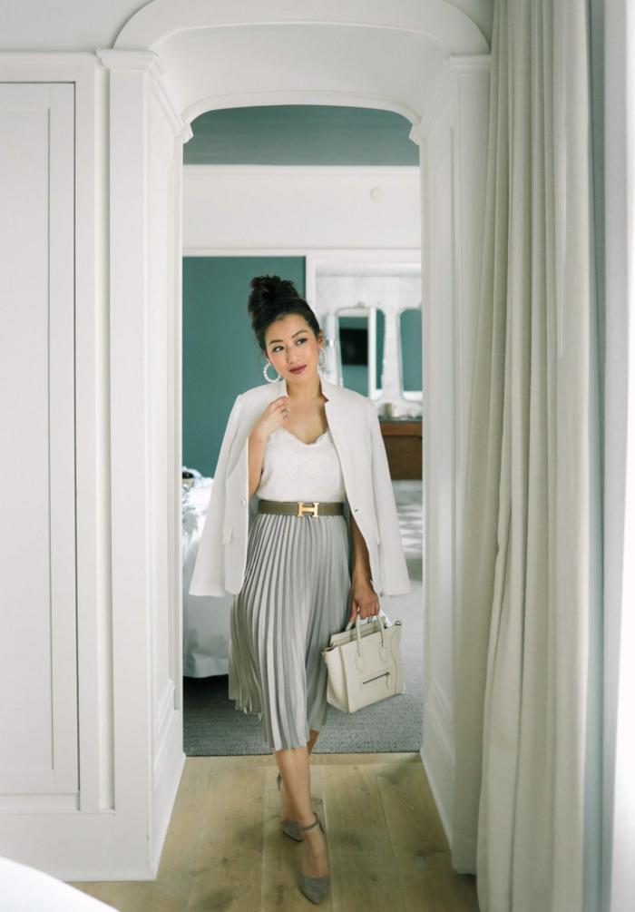 les meilleures idées pour l automne hiver 2020 comment porter une jupe longue style décontracté chic