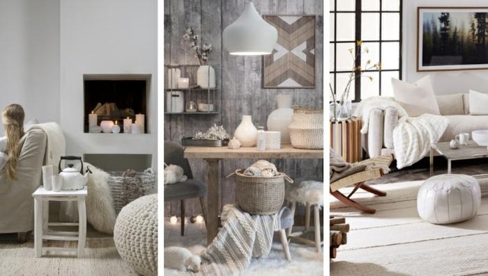 les meilleures idées salon chaleureux ambiance cocooning trois idées d amenagement cosy pour l hiver