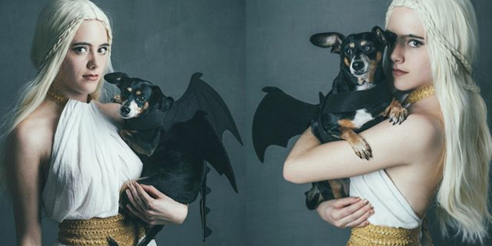 originale idée femme mere des dragons got déguisement couple célèbre deguisement femme film et serie