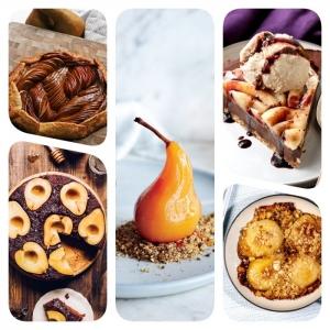 Que faire avec des poires ? Trouvez le meilleur dessert aux poires pour votre menu d'automne