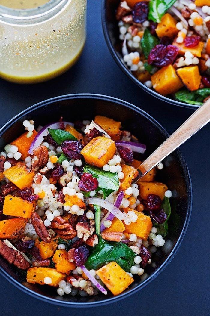 recette d automne plat princpal legumes vertes patates noix de pecane