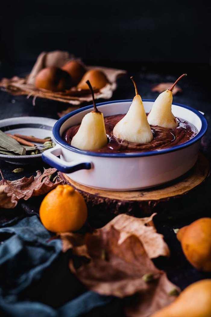 recette poire chocolat idee moelleux poire chocolat gateau simple a faire chez soi