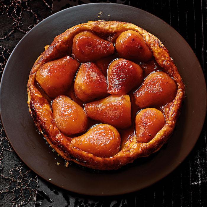recette tarte tatin aux poires pochées gateau a la poire simple avec de la pate tarte aux poires recette originale