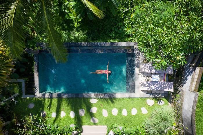 amenagement jardin avec piscone idee quelle piscine choisir en fonction d espace budget avantages
