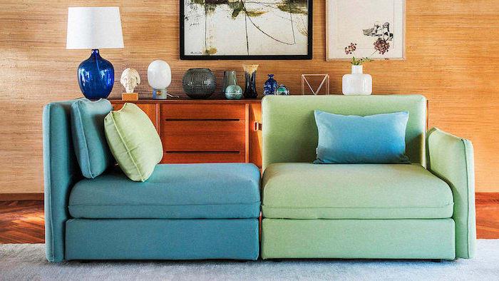 canape customise fait de materiaux recycle relooker meuble ikea idee d amenagement