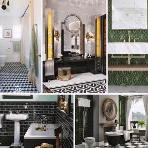Salle de bain art déco ou comment marier l'esprit moderne avec le charme d'antan