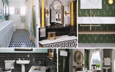 1001 Exemples Splendides De Salle De Bain Art Deco
