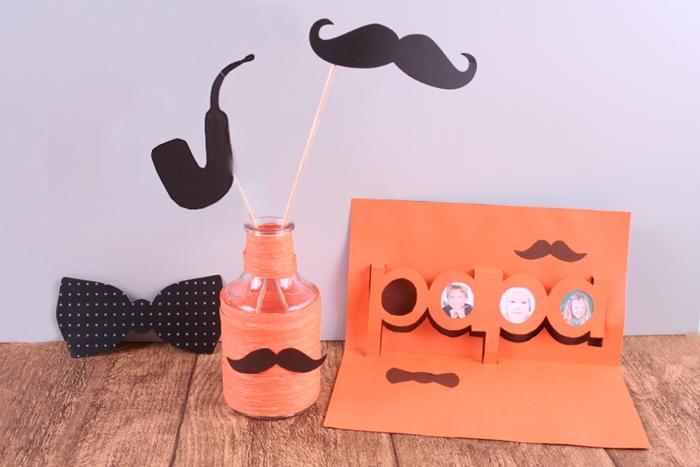 carte d anniversaire halloween a faire soi meme papier cartonne orange carte pop up bricolage cadeau papa facile