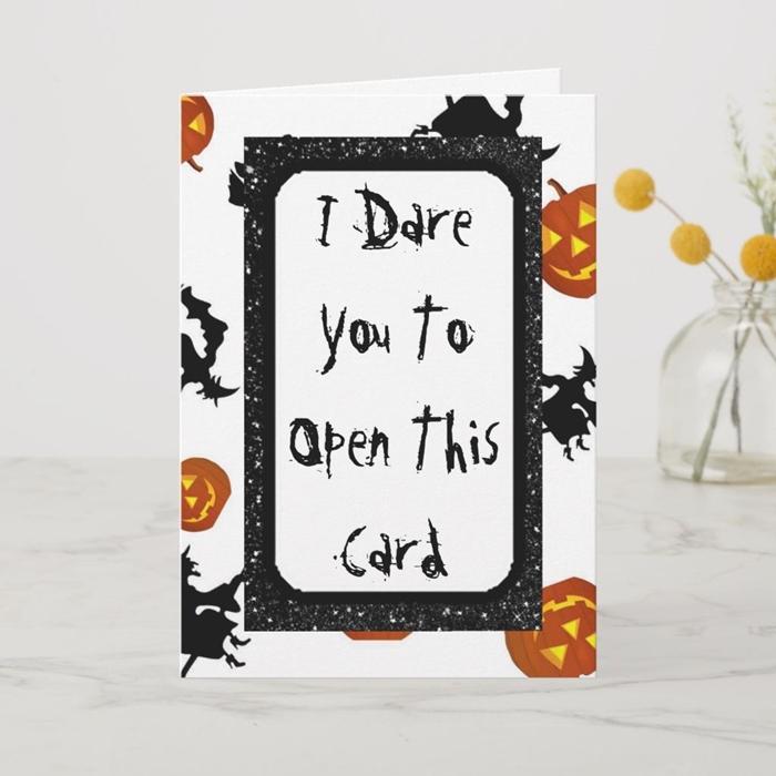 carte invitation halloween gabarit dessin halloween motifs citrouille sourcière balai jack o lanterne design carte à imprimer