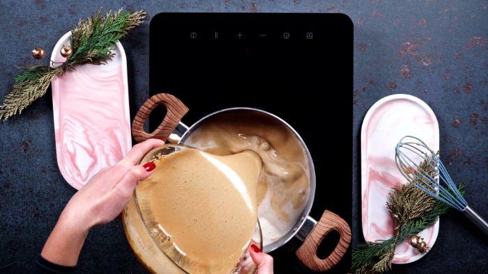 comment faire du lait de poule avec lait de coco et mousse de muscovado et jaunes d oeufs recette boisson chaude