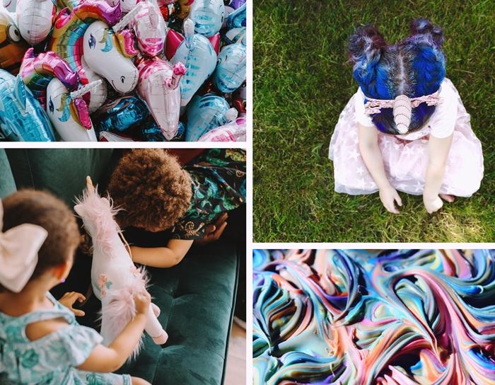 decoration sur theme licorne tendance deguisement enfant costume fille licorne accessoire diademe tete corne
