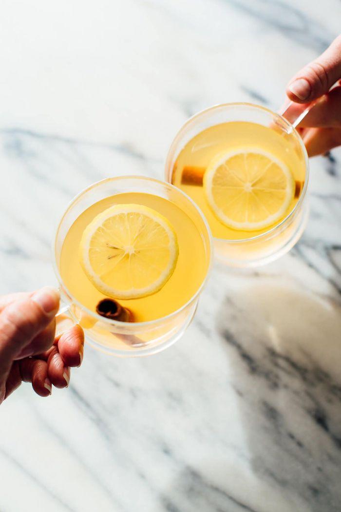 exemple recette de grog au rhum idée remède contre la grippe idée boisson chaude originale a faire soi meme