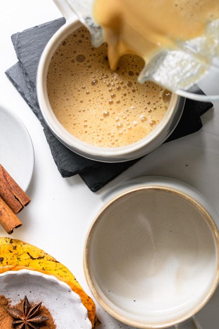 idée comment faire pumpkin spice latte soi meme boissons chaudes avec citrouille