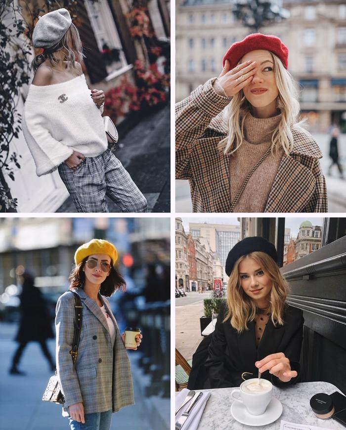 idees commet porter un chapeau selon la forme de son visage mode femme style parisien beret rouge