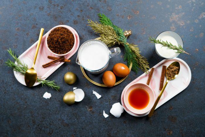 ingrédients nécessaires pour faire lait de poule recette maison au lait de coco et des jaunes d oeufs