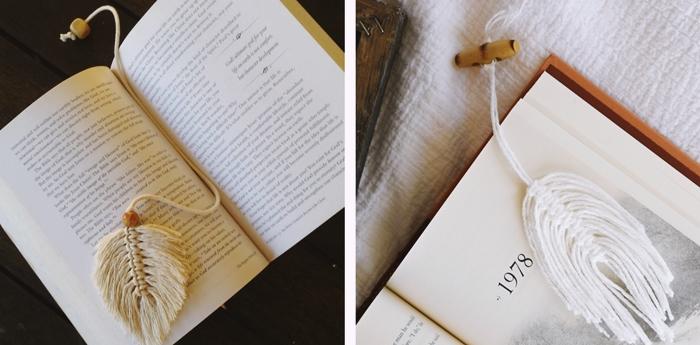 macrame facile debutant comment faire marque page original diy bookmark en corde macrame noeuds debutants