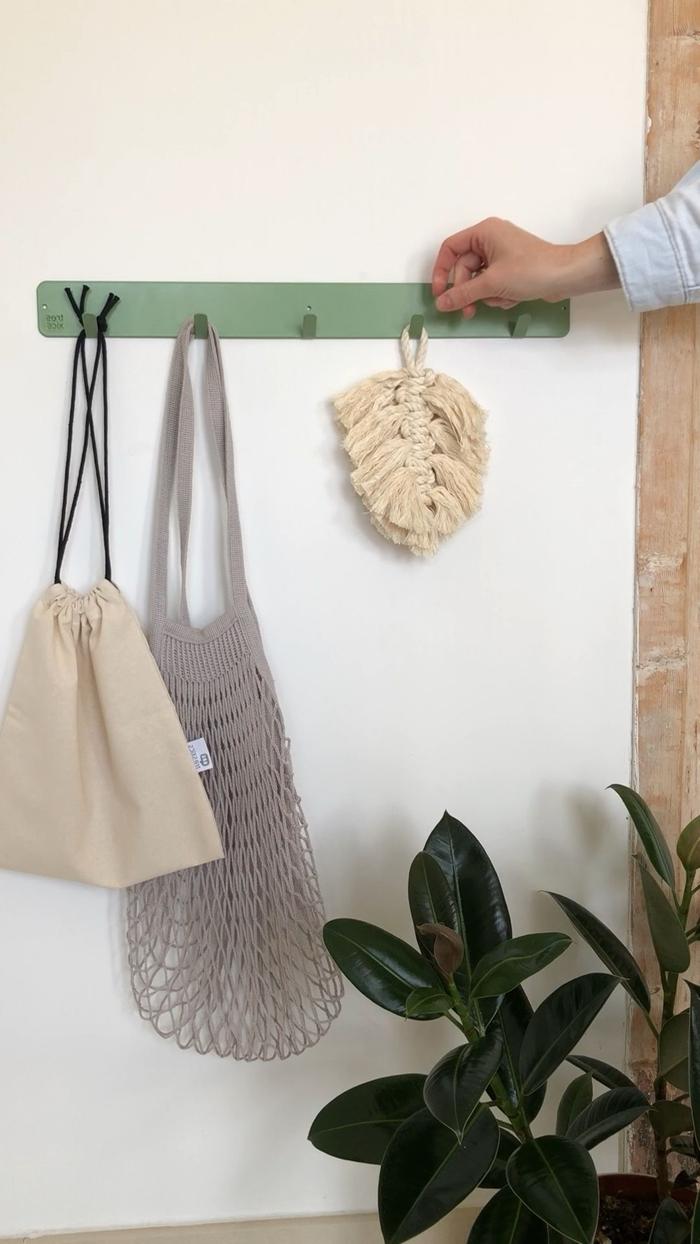 plante verte intérieur création noeud corde macramé facile plume macramé fait maison noeud plat 5 mm technique tressage