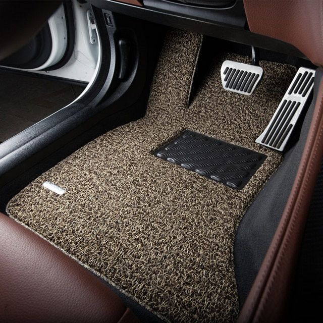 non slip customised durable wire loop mats car floor carpets for audi a4l a6l a3 a8l