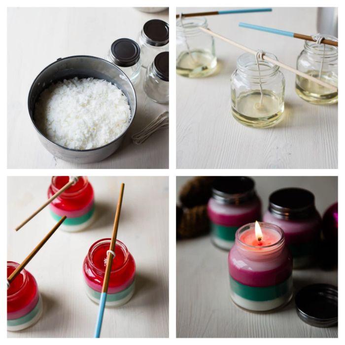 comment fabriquer des bougies maison activités à faire en famille bricolage noel