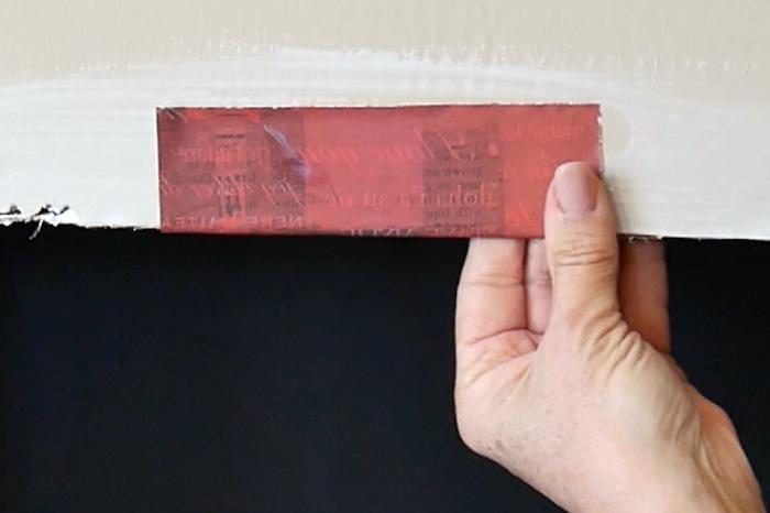 comment faire des tuiles de papier pour une fausse cheminee de noel en carton