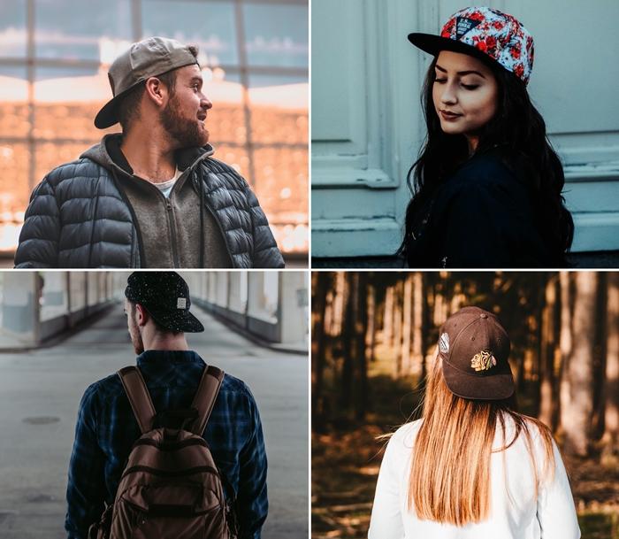 couleurs tendance automne hiver accessoire mode femme et homme casquette d hiver noire